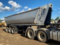 ROAD WEST TRI-AXLE CHASSIS TIPPER TRAILER