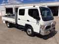 2007 FUSO FE85P Crew Cab with Hitch & Tray