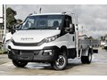 2020 IVECO DAILY CAB CHASSIS WITH ALUMINUM TRAY