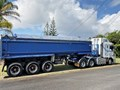 2006 SHEPHARD TRI-AXLE CHASSIS TIPPING TRAILER