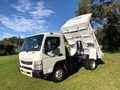 2012 FUSO CANTER 715 TIPPER