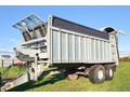 FLIEGL ASW 271 PUSH TRAILER c/w Std & muck spreader door