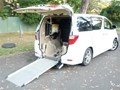 2009 TOYOTA ALPHARD Wheelchair Sloper 2009