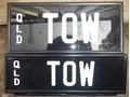 NUMBER PLATES TOW