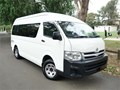 2013 TOYOTA HIACE Commuter 4WD