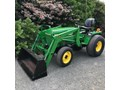 1992 JOHN DEERE 955 WITH LOADER compact tractor