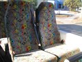 STYLERIDE HIGH BACK COACH SEATS WITH LAP/SASH BELTS (ADJUSTABLE LEGS).