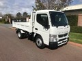 2020 FUSO CANTER 615 CITY CAB FACTORY TIPPER