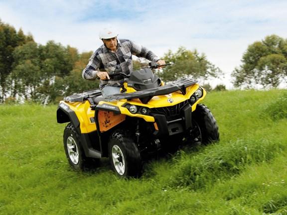 Can-Am Outlander 500 DPS ATV review