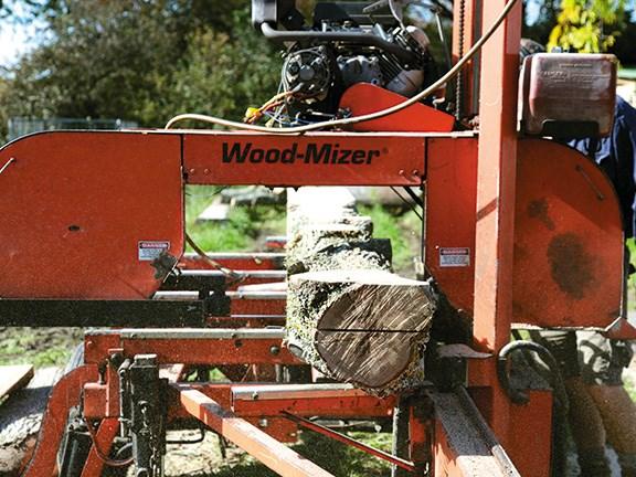 Woodmizer Sawmill For Sale >> Farm Forestry Wood Mizer Sawmill