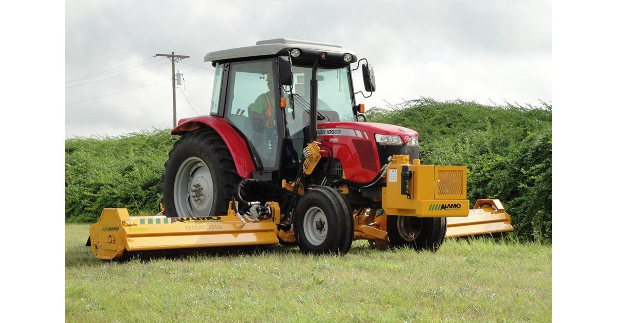 ALAMO INTERSTATER FLAIL MOWER for sale