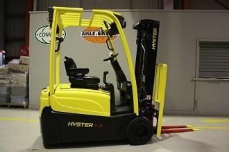 Hyster J1 8XNT forklift review