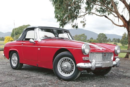 Mg midget torque specifications