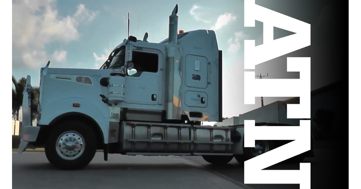 Cummins-powered Kenworth T909 truck video | Review