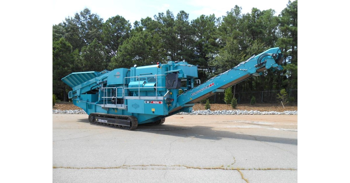 TEREX PEGSON MAXTRAK 1000 CONE CRUSHER for sale or hire