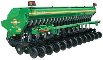 New Great Plains Cph 12 1200 Trailed Triple Disc Drill Tillage And