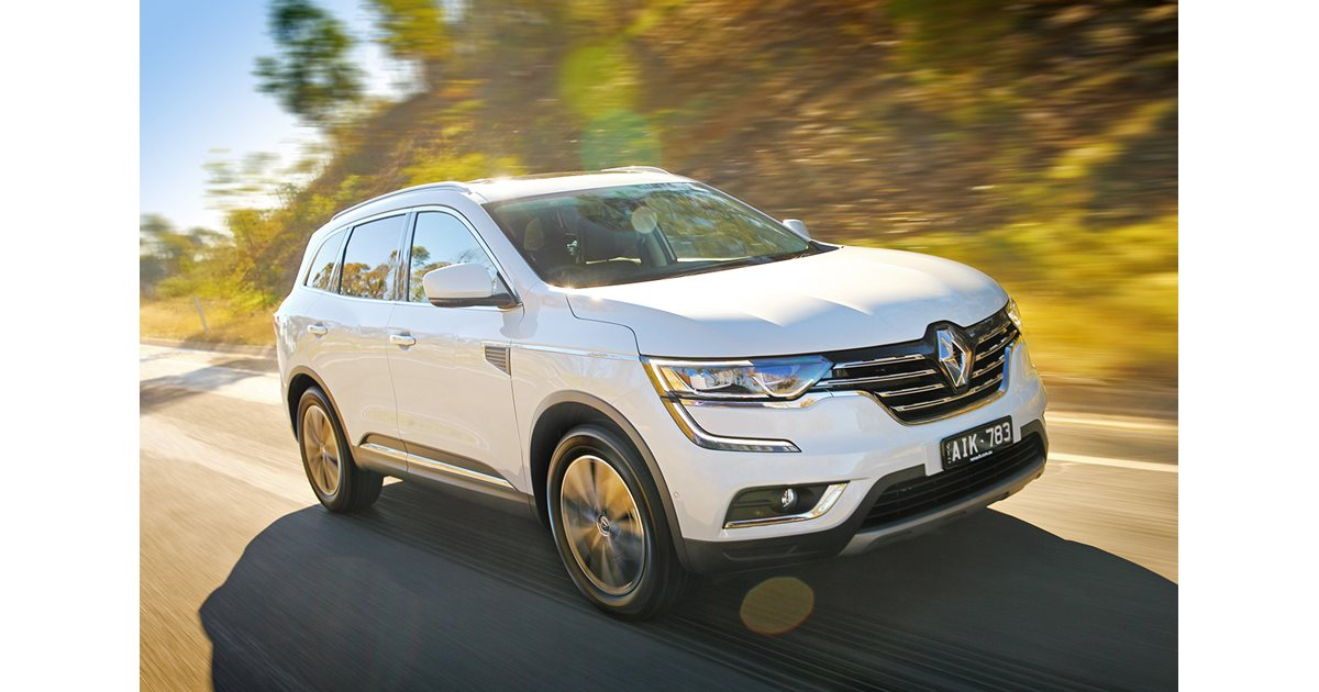 2017 renault koleos intens 4x4 first drive. Black Bedroom Furniture Sets. Home Design Ideas