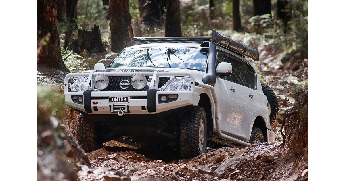 Custom Nissan Y62 Patrol