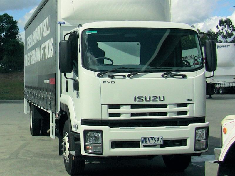 Isuzu FVR truck   Review