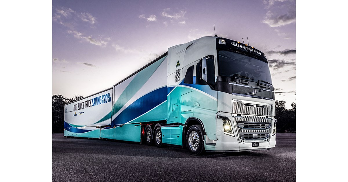 Concepts and Reality: Volvo Fuel Super Truck | News