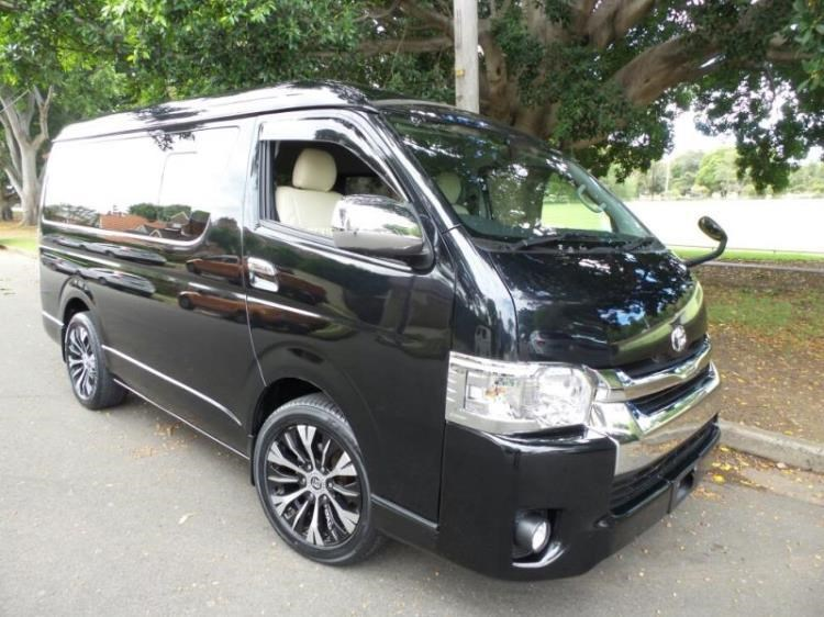 5515a51f41 2015 TOYOTA HIACE VAN 10 Seater Low Roof Wide Body Lon for sale