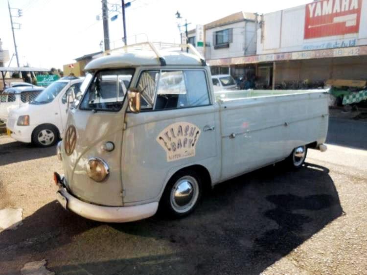 d55ffc54f9 1957 VOLKSWAGEN KOMBI UTE SPLIT WINDOW for sale