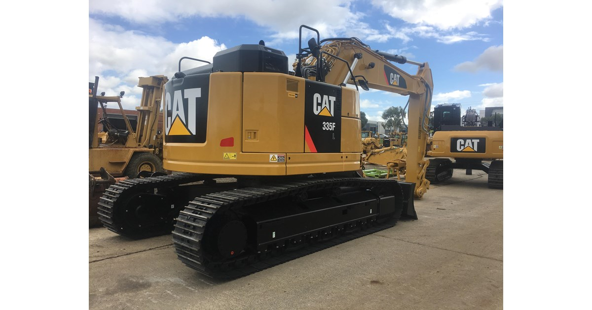 2017 CATERPILLAR 335F LCR RENTAL UNIT ! for sale