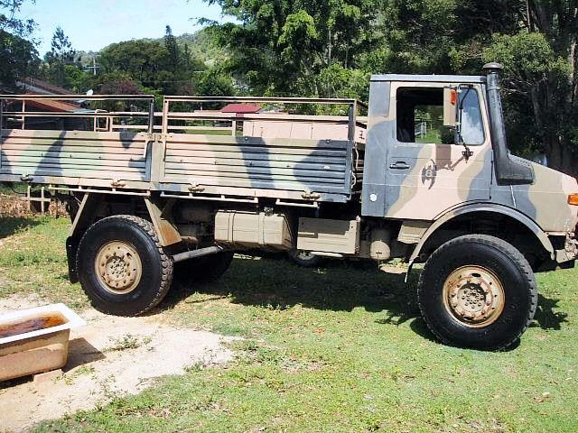 1983 MERCEDES-BENZ UNIMOG for sale
