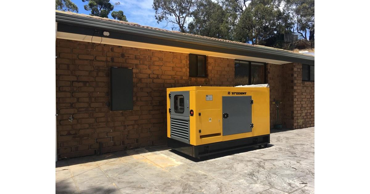 2018 TRIDENT 20KW DIESEL ENGINE GENERATOR for sale