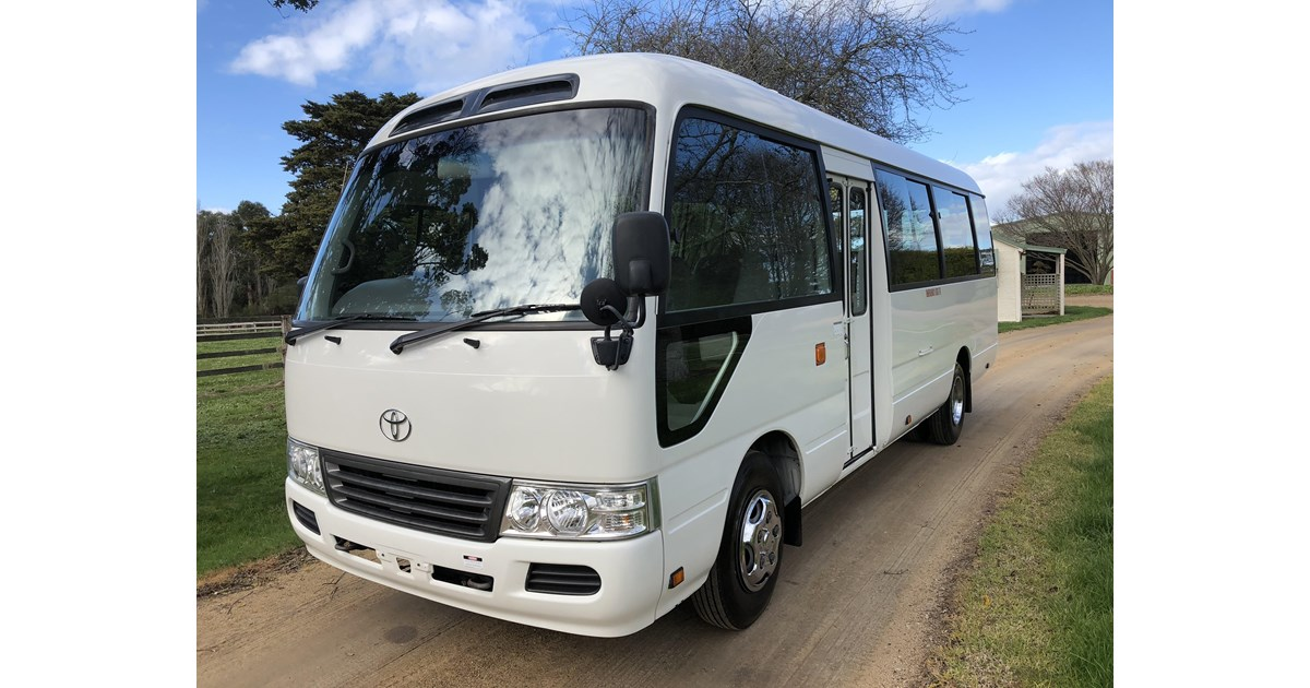 2007 TOYOTA COASTER BUS for sale