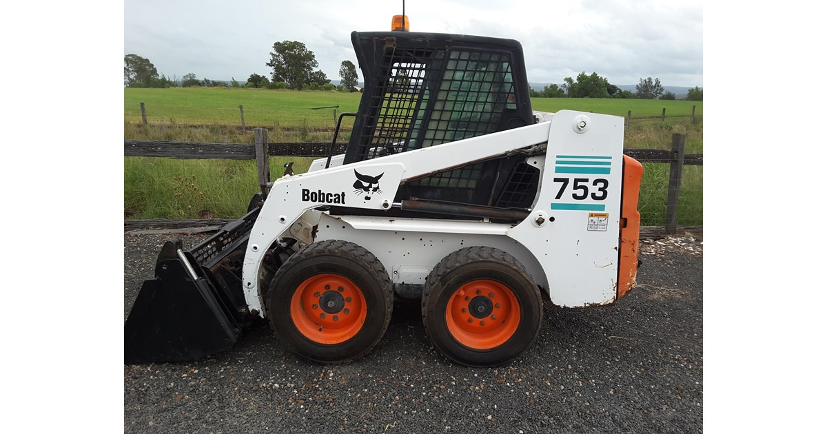 Bobcat 753 For Sale