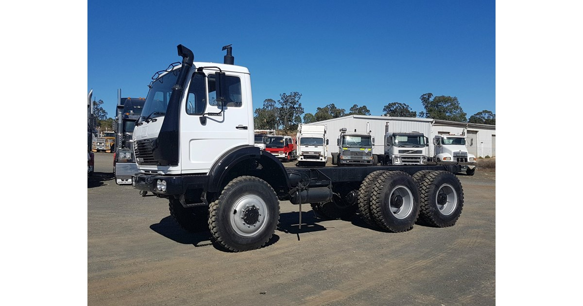 1992 MERCEDES-BENZ 2628 6x6 Cab Chassis for sale