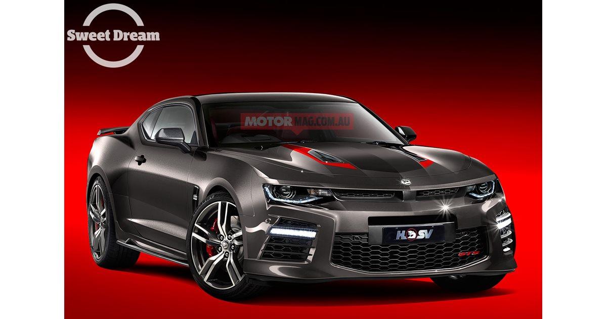 Hsv Camaro Gts Sweet Dream Motor