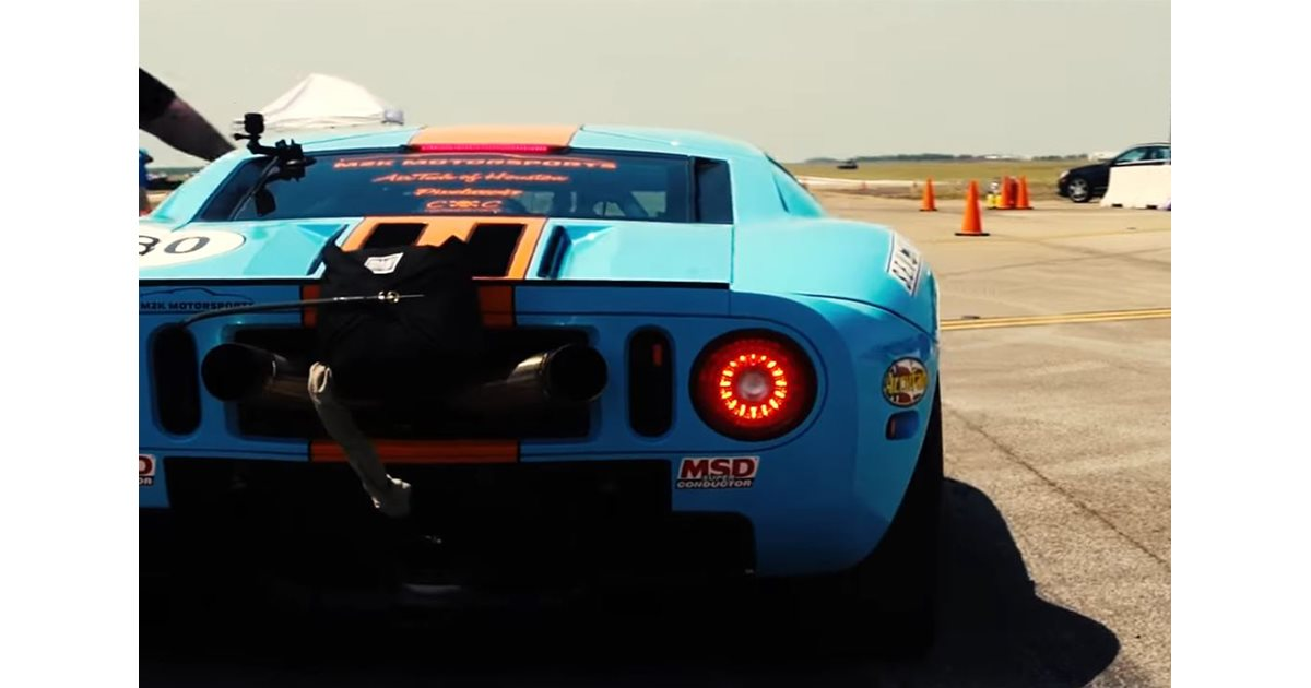 Ford Gt Breaks Record For Fastest Standing Mile Motor