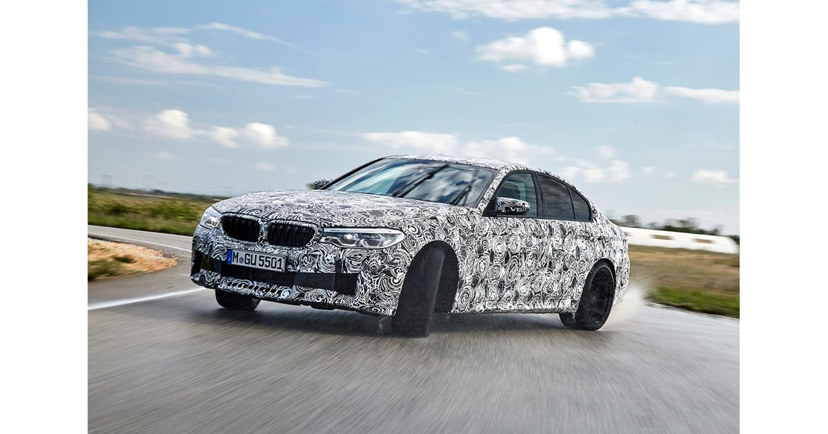 2018 Bmw M5 Scores Switchable Awd Motor
