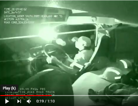 WATCH: Runaway trailer and truck collide | News