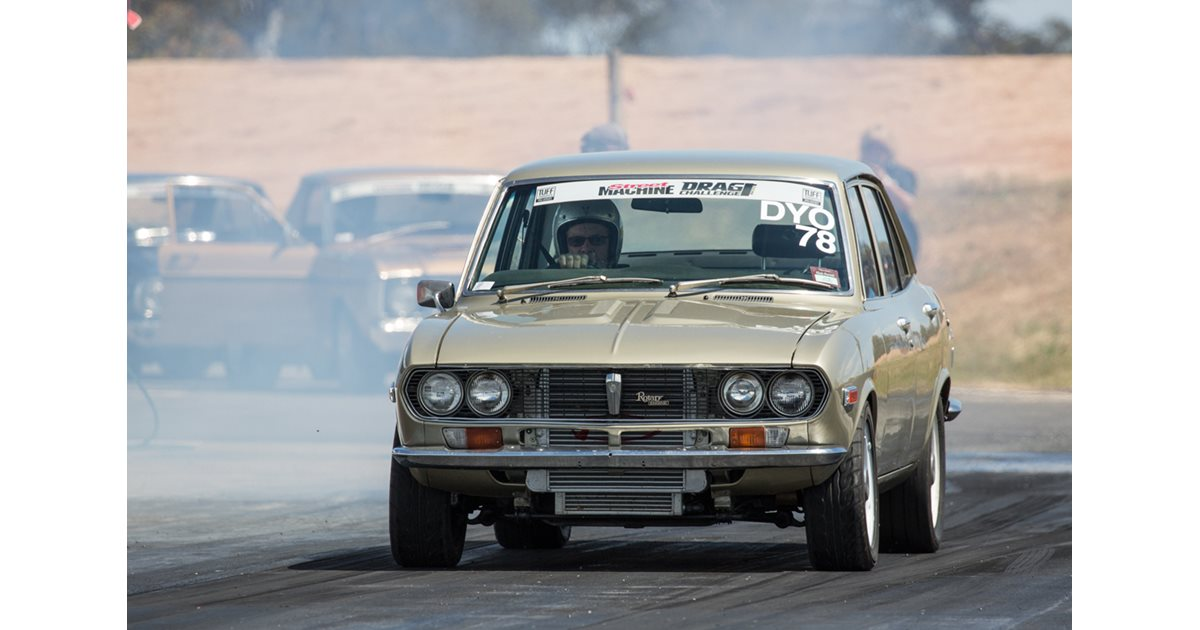 The First Rotary Powered Car In Drag Challenge History