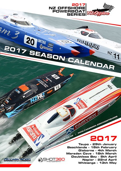 Get ready for the 2017 NZ Offshore Powerboat Series