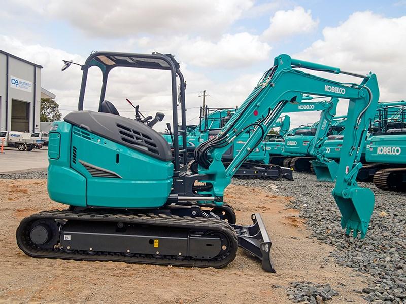 Review: Kobelco SK45SRX-6 mini excavator