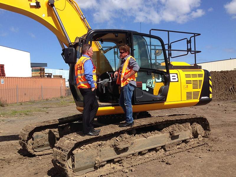 Video Walkaround Jcb Js220 Lc Excavator