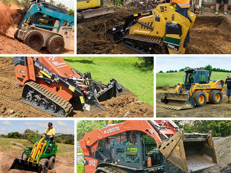 6 super skid steers