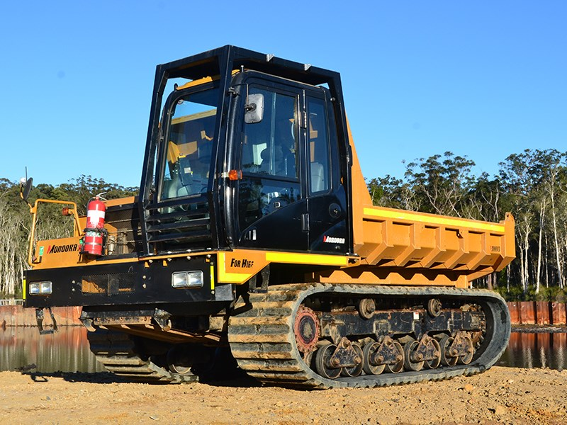 Review: Morooka MST-3000VD site dumper