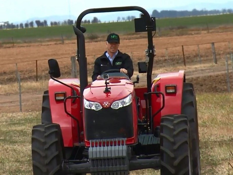 Massey Ferguson utility tractor review - MF 4708 Global Series