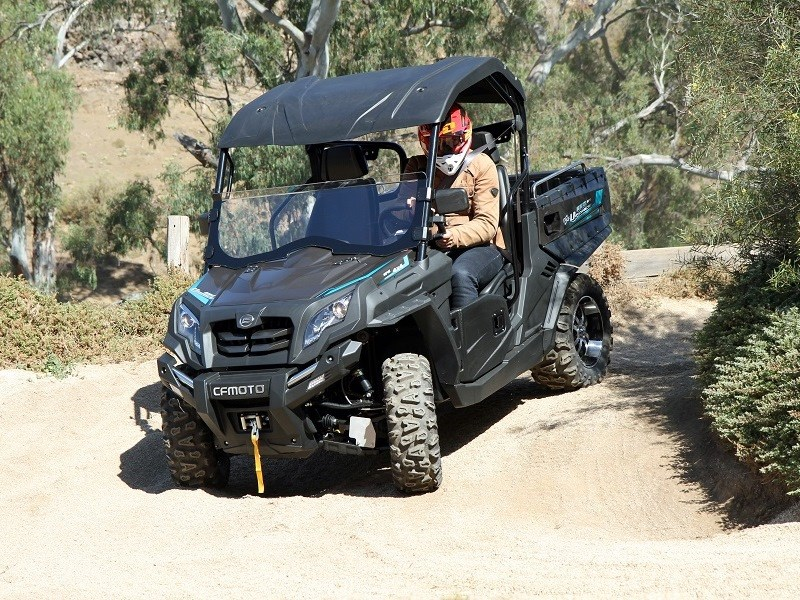 cfmoto unveils x550 atv and u550 utvs for rural sector