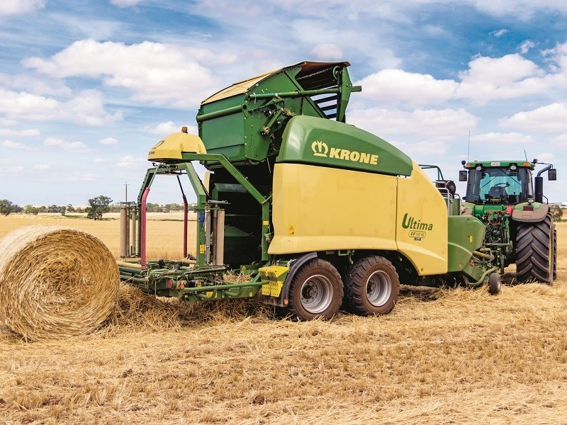 Krone Ultima CF 155 XC Continuous Round Baler Review