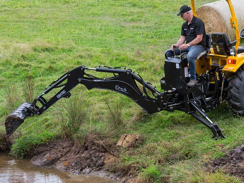 Emu EBH 760 Linkage Backhoe review