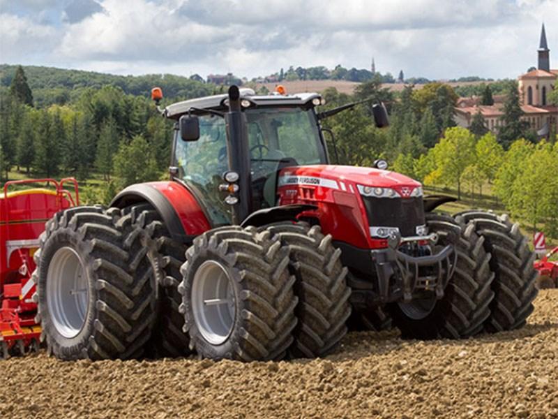 New MASSEY FERGUSON 8732EFDV Tractors for sale