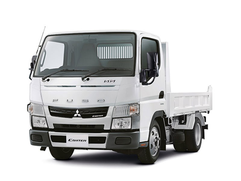 New FUSO CANTER 515 CITY TIPPER FEA61BR3SFAC DUONIC Trucks for sale