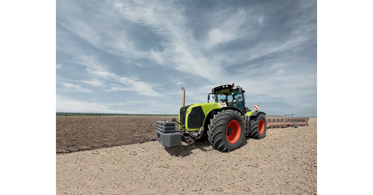 Super New CLAAS XERION 4500 T Tractors for sale @BX_99
