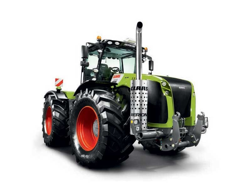 Top New CLAAS XERION 4500 TVC Tractors for sale @ZU_57